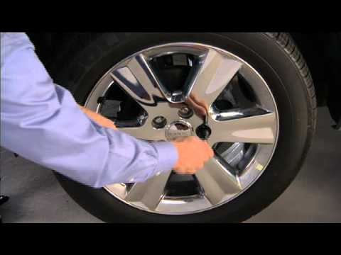 2012 Dodge Journey Jacking And Tire Changing Youtube