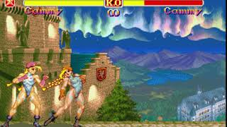 (music) Super Street Fighter 2 Turbo - England - Cammy Stage and music - fast version