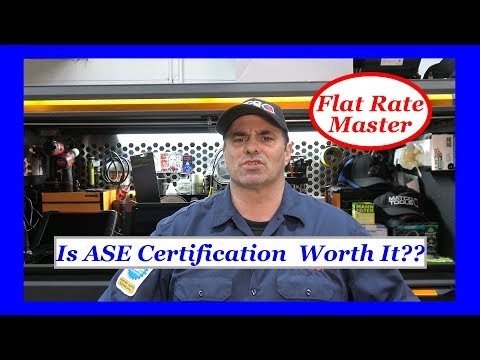 Is ASE Certification  Worth It??