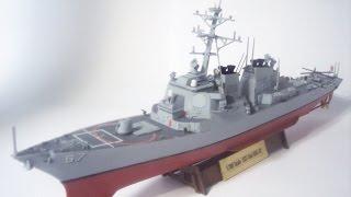 1:700 Arleigh Burke Class DDG Model Uss Cole Dragon/Hobby Boss Combo Premium Ship Build Reveal