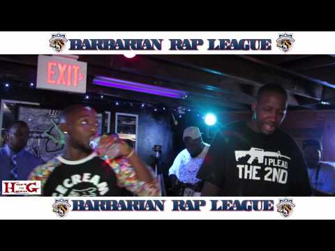 RahSki Vs Flawless Barbarian Rap League