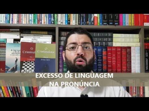 Júri: o que é o excesso de linguagem e qual é a sua consequência?