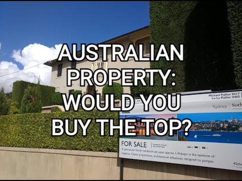 Australian property: Is this the Top?