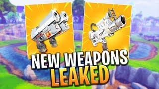 *NEW* SPACE PISTOL AND DUAL PISTOL WEAPONS LEAKED! - Fortnite Battle Royale