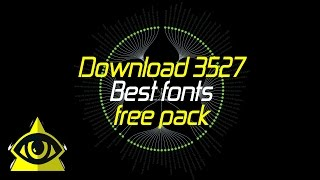 Best Fonts Free Pack