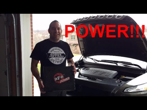 aFePower Pro Dry S Air Filter Install!!! - Jeep Cherokee V-6