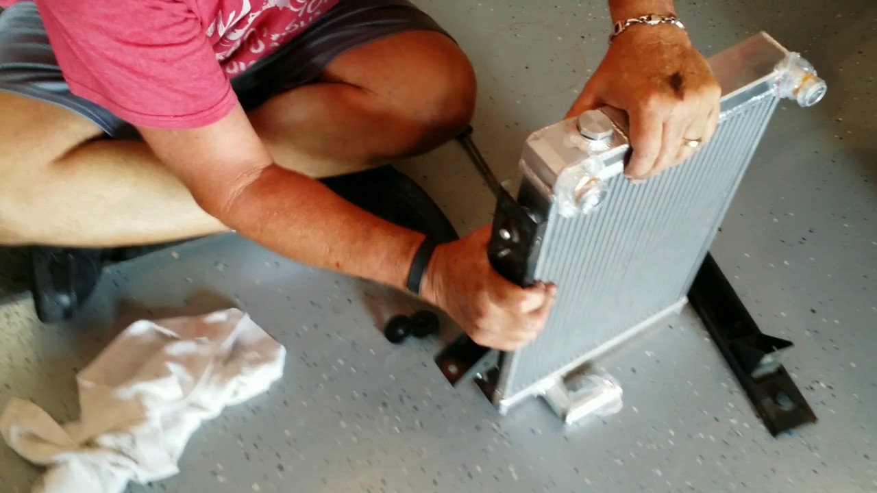 Spitfire Radiator Replacement Ii Youtube