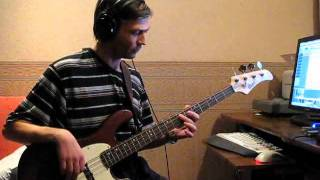 Blonde Redhead - Elephant woman (bass cover)