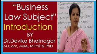 Introduction of Business Law