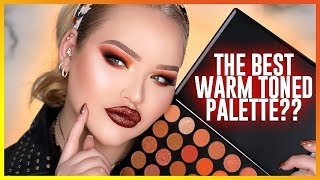 the best affordable warm-toned eyeshadow palette  nikkietutorials
