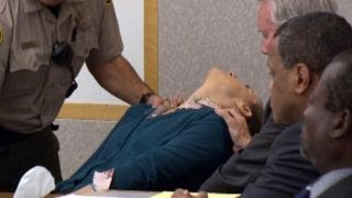 Defendant faints in court after being found guilty