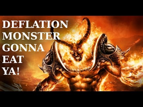Deflation - why are banks and governments spending billions convincing you its bad? What is it?