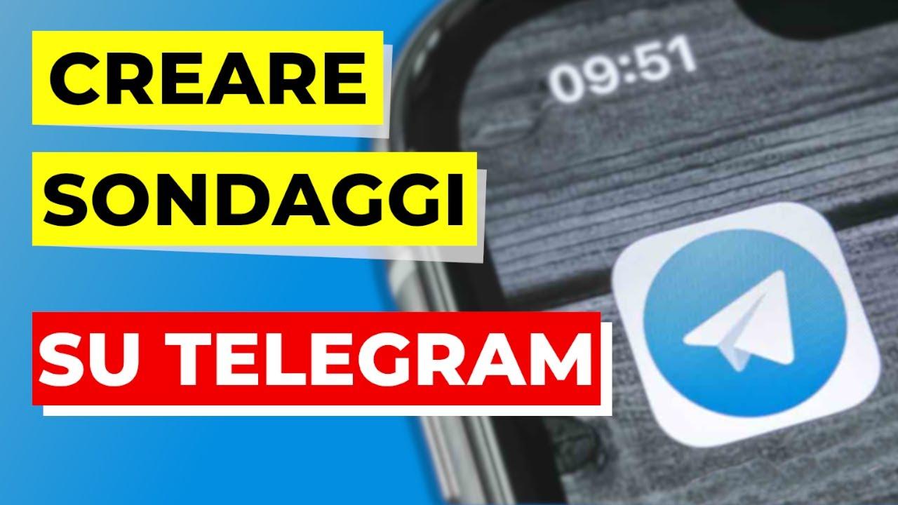 Come creare un sondaggio su Telegram Tutorial Ita (link ...