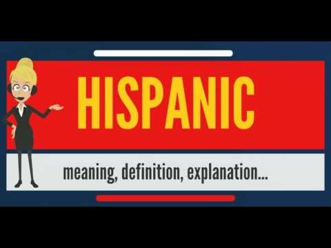 the definition of the term hispanic Definition of hispanic in the definitionsnet dictionary meaning of hispanic  what does hispanic mean  it is also difficult to label a culture with one term .