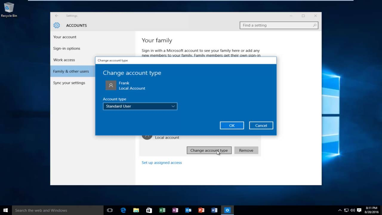 How To Change A Local User Account To Admin In Windows 10 Tutorial [EASY]