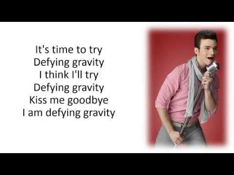 Glee - Defying Gravity (Kurt Solo Version) [Season 5 Version]