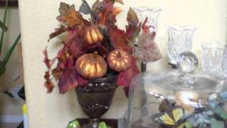 Thanksgiving Fall Harvest home tour decor