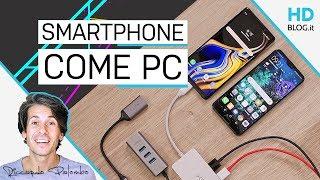 Samsung DEX vs EMUI Desktop // Galaxy Note 9 vs Huawei P20 Pro