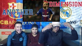 CR7 Fan reacts to: Lionel Messi ● Another Dimension ● 2017/2018 HD ● Reaction