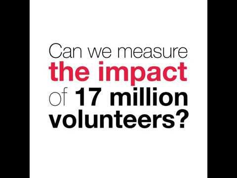 17 million volunteers around the world, and counting All thanks to - volunteers around the world