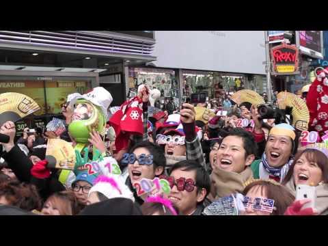 TOSHIBA: New York Times Square Japan Countdown