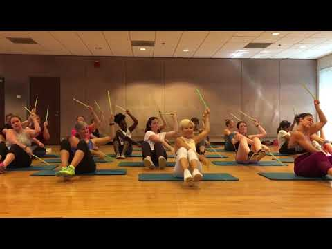 """""""SEVEN NATION ARMY"""" The White Stripes - Dance Fitness Drumming Workout Valeo Club"""
