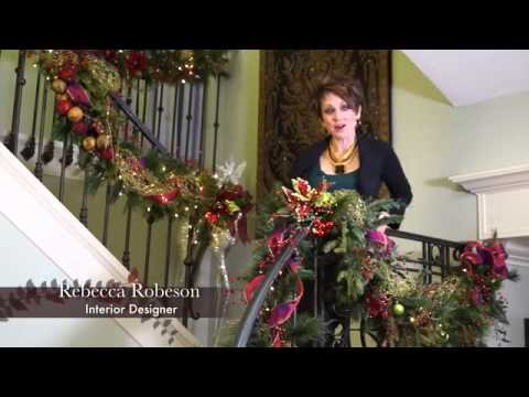 Christmas Decorating Inspiration From Robeson Design Youtube