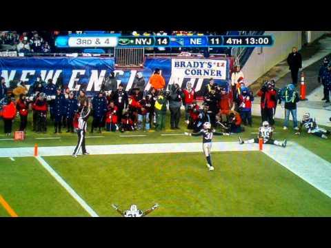 Santonio Holmes Amazing Touchdown Catch vs Patriots- Divisional Playoffs