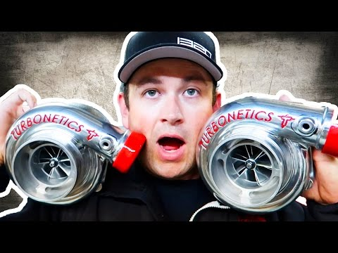We Got The TURBOS - 1,000 Horsepower HERE WE COME!!