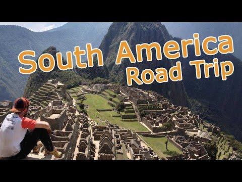 SOUTH AMERICA ROAD TRIP - 4 countries - Chile, Argentina, Bolivia, Peru