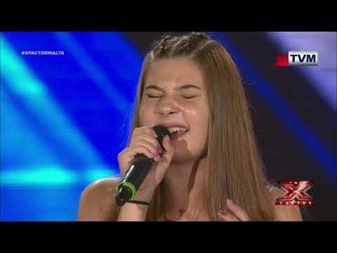 X Factor Malta - The Chair Challenge - Michela Pace