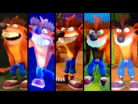 Crash Bandicoot - All Fake Crash Locations (N. Sane Trilogy)