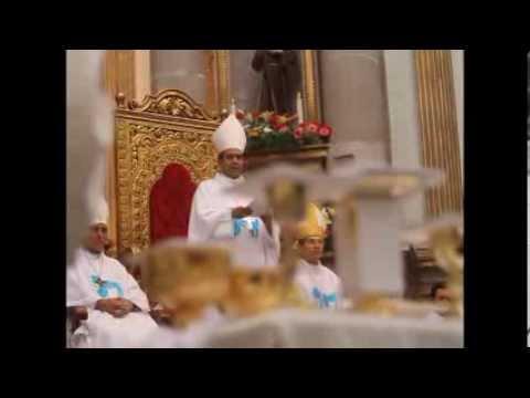 Realiza Diócesis de Tulancingo misa por liberación de 65 ex presos - YouTube