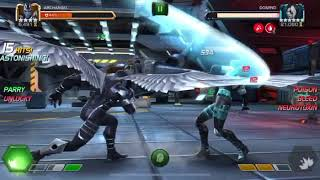 Mcoc AA vs uncollected domino buffet