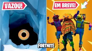 LEAKED THE MONSTER FROM THE POLAR PEAK AND NEW SKINS FROM SEASON 9 OF FORTNITE!