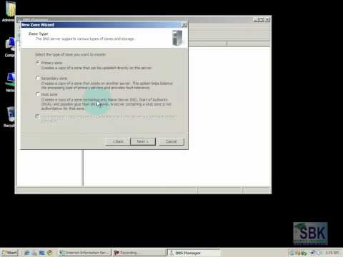 Installation and Configuration of Web Server IIS on Windows Server 2008 to host multiple websites