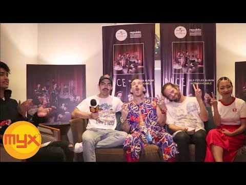 VJ DONNY's MYXclusive Interview With DNCE