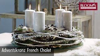Adventskranz | Floral Design | christmas decoration | BLOOM's Floristik