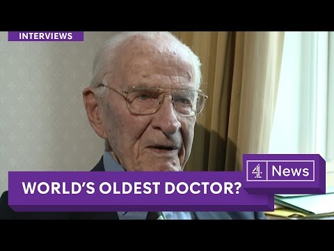 105-Years-Old: the World's Oldest Doctor?