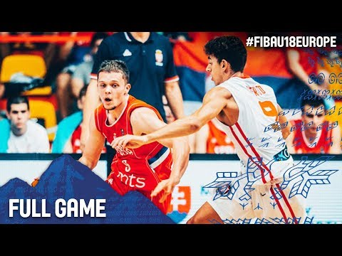 Spain v Serbia - Full Game - Final - FIBA U18 European Championship 2017