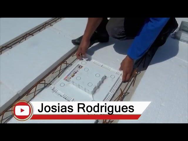 Plasled sendo instalado por JR Construção