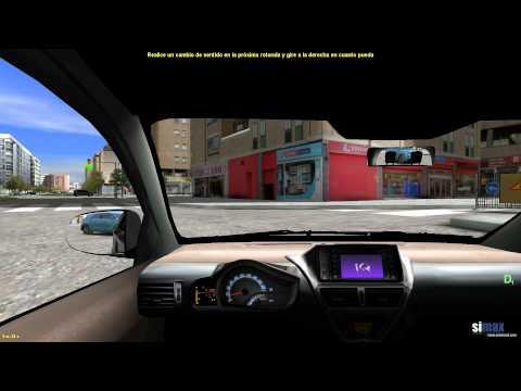 Simax guided driving for beginners / Conducción guiada para principiantes Simax