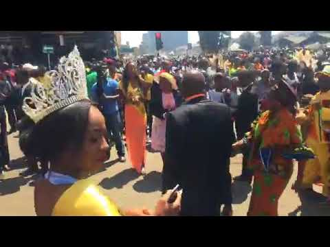 Harare Zimbabwe International Street Carnival 9th September, 2017