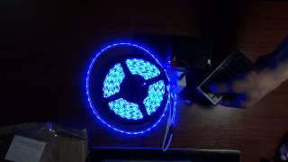 Светодиодная лента RGB+контроллер. Посылка из Китая №5.(Светодиодная лента RGB+контроллер покупал на EBAY. Заказал 28.01.2014, пришла 20.02.2014., 2014-02-21T16:04:35.000Z)