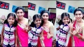Rekka katti parakuthu manasu actress  in  dubsmash tamil new funny video of tiktok dubsmash actress