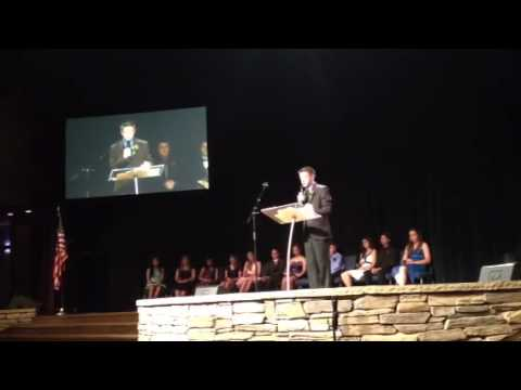 Los Gatos Christian School Graduation Speech 2012