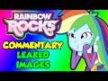 MLP Equestria Girls Rainbow Rocks - Commentary, Leaked Images!