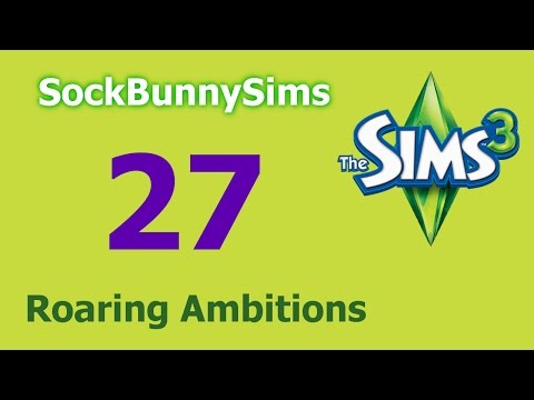 Sims 3 - Roaring Ambitions - Ep 27 - Stealing Toilet Paper