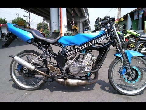 Motor Trend Modifikasi Video Modifikasi Motor Kawasaki Ninja R 150