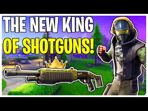 The King Of Smasher Killing Shotguns! Browbeater Spec Ops Weapon Review | Fortnite Save The World
